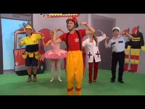 ▶ Fireman Big & Strong - The Workers - YouTube My preschoolers will love this!