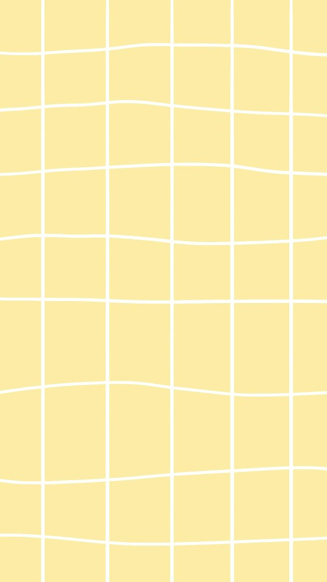 Yellow Pastel Grid Vector Aesthetic Social Banner For Kids Free Image By Rawpixel Com Tana Yellow Aesthetic Pastel Iphone Wallpaper Yellow Yellow Wallpaper
