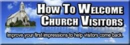 Good articles about welcoming visitors to your church