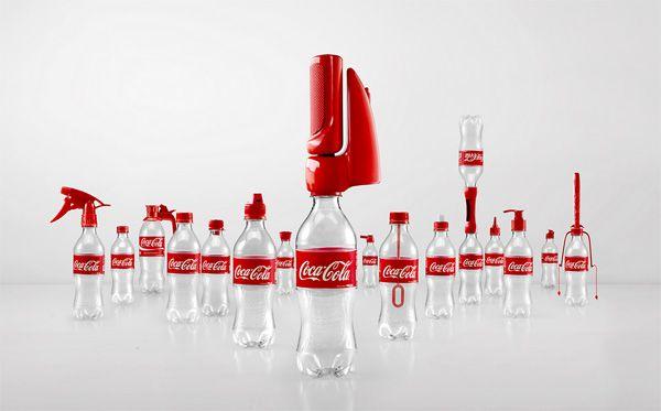 Het creatieve bureau Ogilvy & Mather ontwikkelde voor Coca-Cola Azië een toffe campagne, waarmee men plastic flesjes een tweede leven geeft....