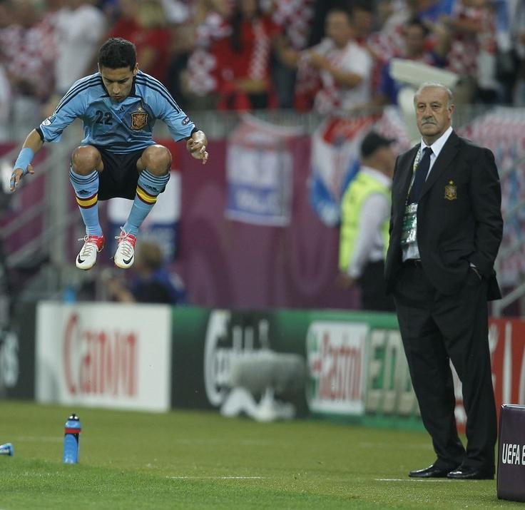 Euro 2012:  Spain-Del Bosque's temperance vs Navas' hyperactivity.
