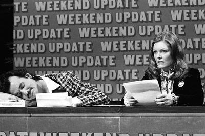 Jane Curtain & Bill Murray, Weekend Update Co-anchors 1978-1980.