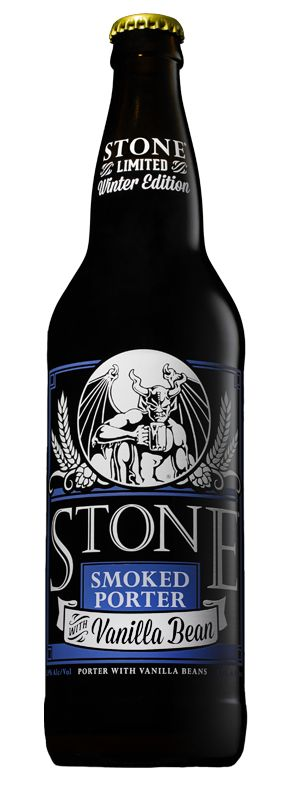Starting today, #stone Smoked Porter w/Vanilla Bean will be available in 22-ounce bottles in all states and territories where our beer is sold. It's the first time this smoky, slightly sweet and easy-drinking delight has been available in this larger format, and only the second time ever that it's been bottled.  http://www.stonebrewing.com/porter/vanilla/