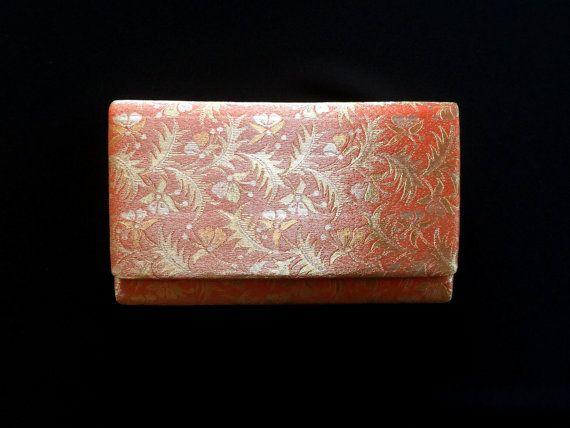 Kimono giapponesi vintage frizione Clutch di FromJapanWithLove