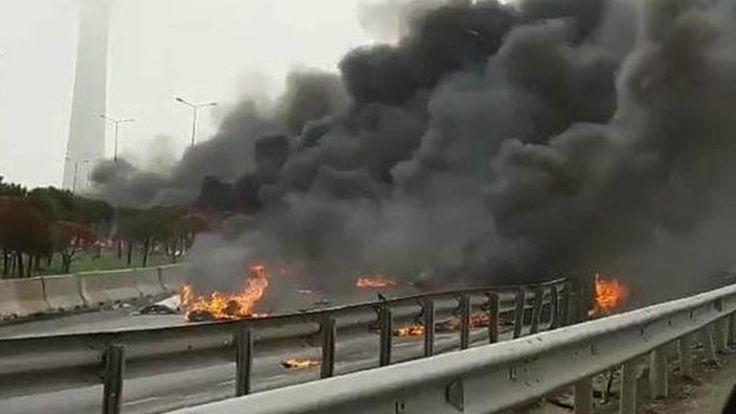Συνετρίβη ελικόπτερο στην Κωνσταντινούπολη (pic) > http://arenafm.gr/?p=297799