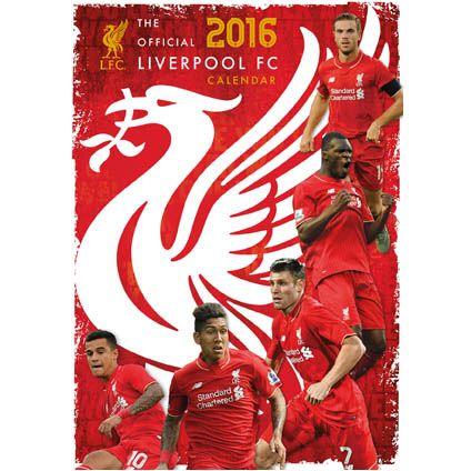 Official Liverpool 2016 Calendars available direct from Danilo.com at https://www.danilo.com/Shop/Calendars/Football-Calendars