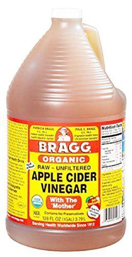 """awesome De #Amazon: """"Vinaigre de cidre de pomme brut brut Bragg, 128 Ounce - 1 paquet """""""
