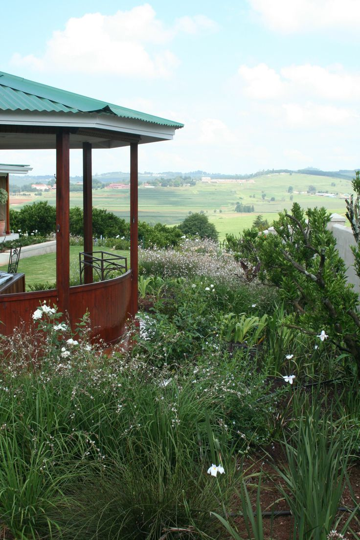 Victorian Gazebo with Jacuzzi with view to farmlands