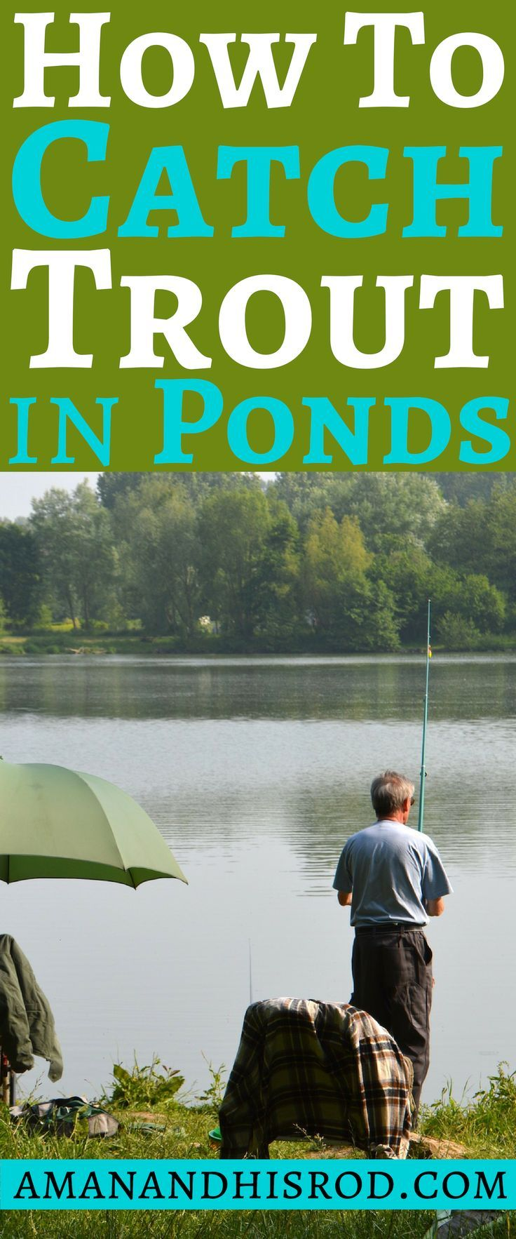 fishing #tips to catch #trout in ponds  How to catch trout