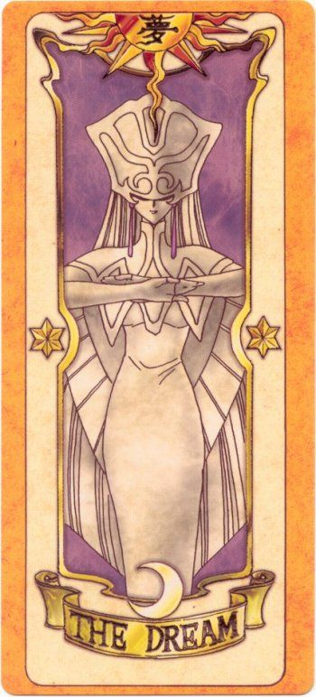 This is The Dream Clow Card from the Card Captor Sakura anime and manga series by CLAMP