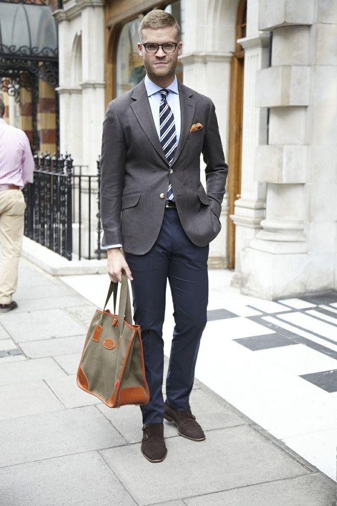 Manner maketh man,Fashion men's suit makes a gentleman