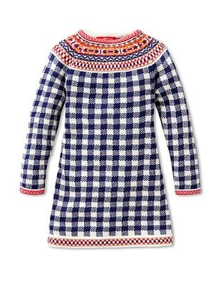 58% OFF Oilily Girl's Kosja Dress (Blue/White Check)