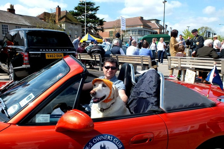 A day out in Stratford Upon Avon raising money for charity.