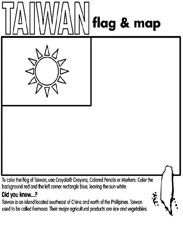 china flag coloring page crayola coloring pages