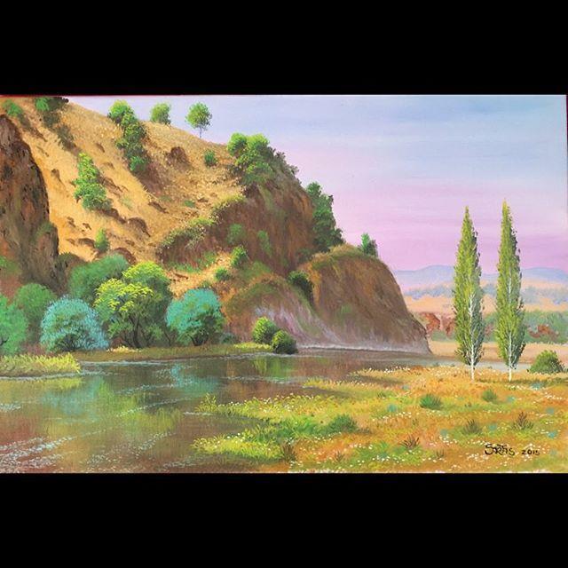 ✨Kızılcıhamam ✨ 40x60Tuval Üzeri Yağlı Boya.  #resim #tablo #sergi #resimsergisi #ressam #yağlıboya #oilpainting #sanat #ankara #izmir #istanbul #art #artwork #fineart #vscocam ✨Bu Esere Sahip Olmak İçin; Okan Sartaş 05074409494✨ #drawing #canvas #ig_turkey #turkeyinstagram #turkeyartist #artofdrawing #ig_art #sanatgalerisi #sanatsokakta #sanatci