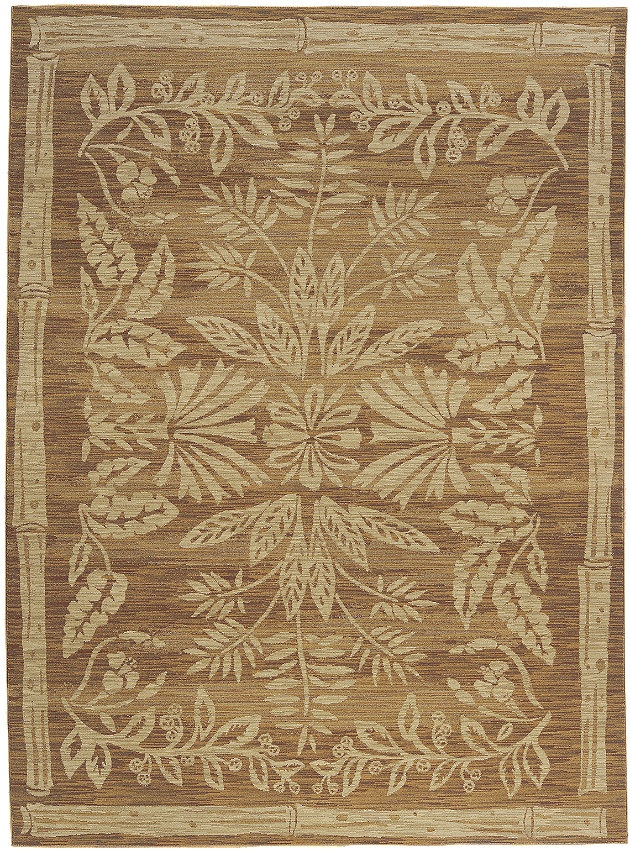 """Flooring: Area Rug in the Tommy Bahama Home Collection in style """"Island Batik"""" color Spice - by Shaw Floors"""