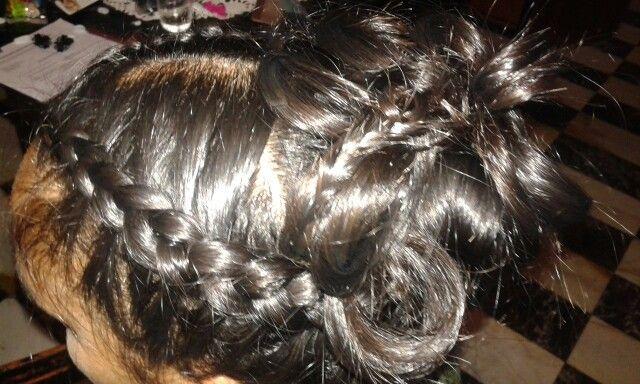 Recojete el pelo!