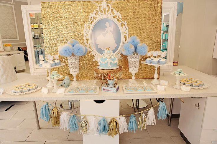 Cinderella princess party.