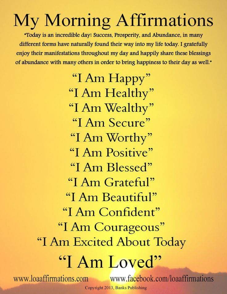 Amen thank god affirmations affirmation posters
