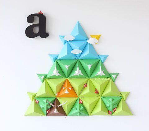"En attendant Noël...leur ""a""dvent calendar! (DIY) JesusSauvage"