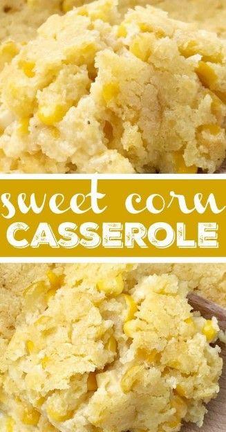 Sweet Corn Casserole – Top cooking