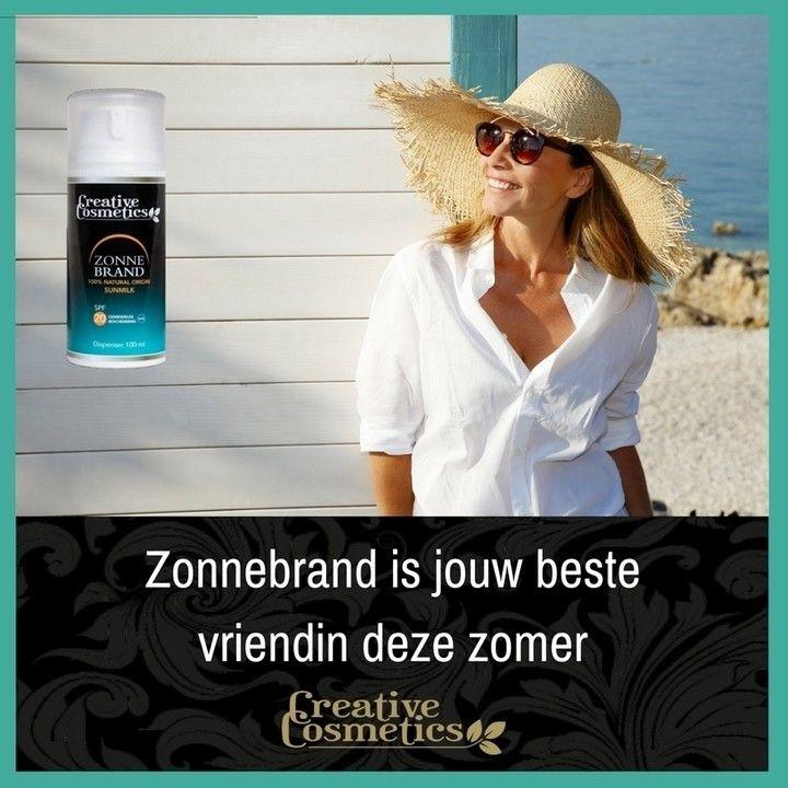 Zonaanbidders, vergeet je niet in te smeren!  Een beschermde huid is in de zomer super belangrijk. Door de voedzame, 100% natuurlijke ingrediënten heb je in je strandtas altijd het beste van het beste bij je.  https://www.creativecosmetics.nl/natural-origin-sunmilk.html  #beauty # beautyful #beautytips #greenbeauty #naturalbeauty #beautyofnature #naturesbeauty #veganbeauty #beautymakeup #makeup #crueltyfree #purebeauty #beautys #foundation #lipstick #concealer #blush #bronzer #highlight…