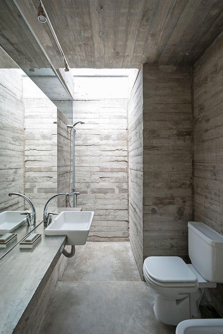 M s de 1000 ideas sobre casas de concreto en pinterest - Bano cemento pulido ...