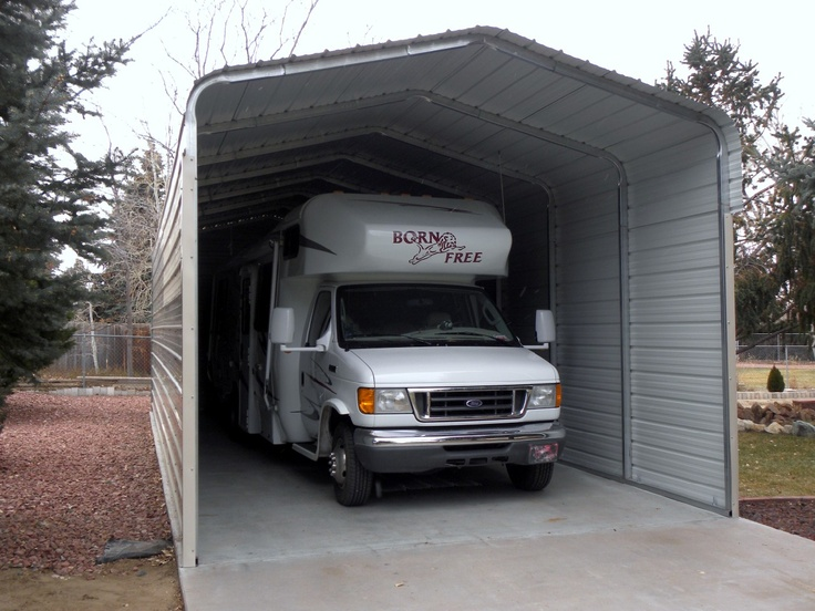 Carport With Storage Kits : Best images about steel carports on pinterest years