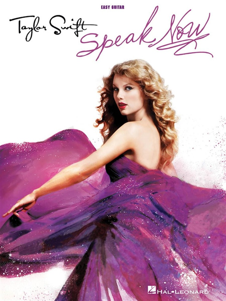Taylor Swift - Speak Now - Easy Guitar Book with Notes & Tab
