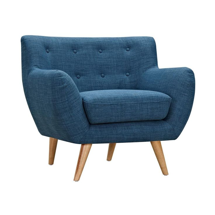 Olson Armchair in Blue | dotandbo.com