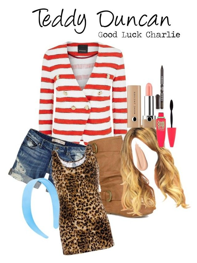 """""""Teddy Duncan: Good Luck Charlie"""" by br00klyn-best ❤ liked on Polyvore featuring Pinko, GUESS, Journee Collection, BKE, Anna Sui, Marc Jacobs and Maybelline"""