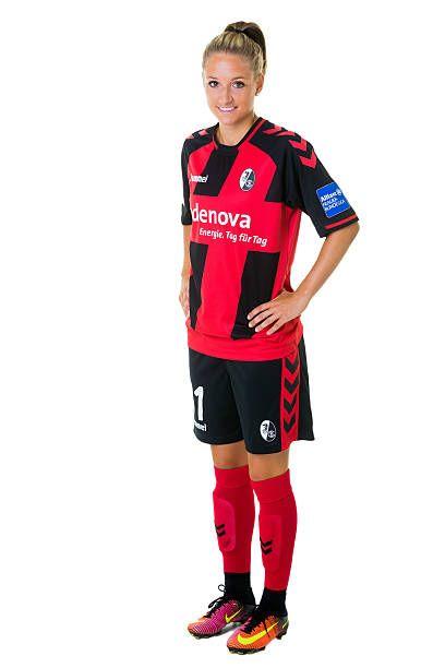 Selina Wagner of SC Freiburg poses during the Allianz Women's Bundesliga Club Tour on August 31 2016 in Freiburg im Breisgau Germany
