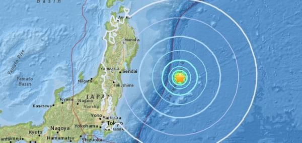 A 6.2-magnitude earthquake struck the coast of Japan and just 228 miles from a nuclear power plant that had a meltdown from 2011 quake,…