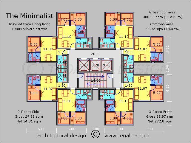 Hong Kong Minimalist Block