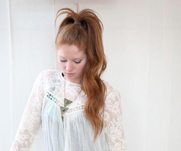 easy hair trick - super long ponytail