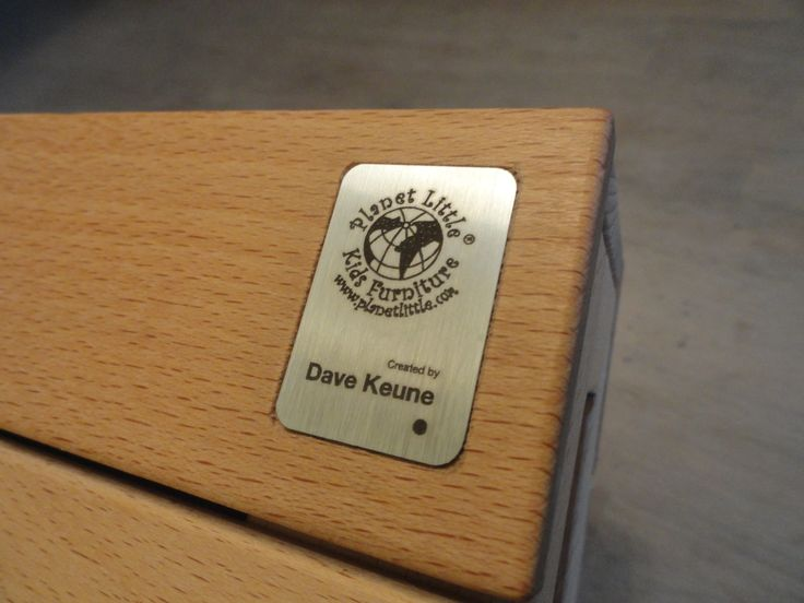 Our metal brand plate made by Dutch designer Dave Keune.  Thanks Dave and well done!