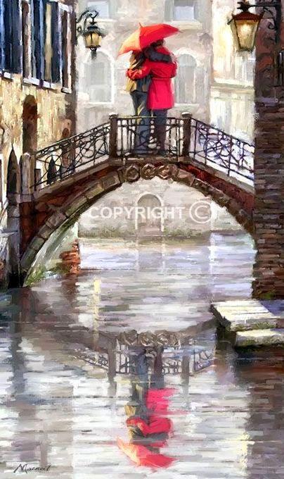 Canal Bridge ~ by Richard MacNeil