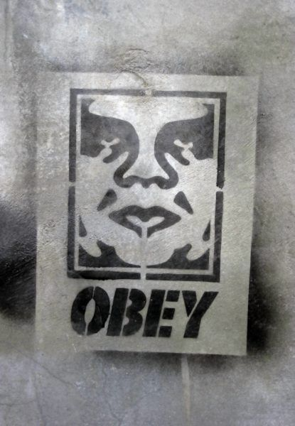 obey – graffiti/street art