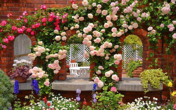 Gli Arcani Supremi (Vox clamantis in deserto - Gothian): Giardini e fiori