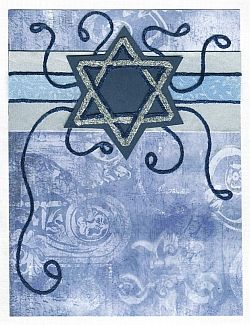 Rosh Hashanah Card Wish friends and family a good new year with this simple card.