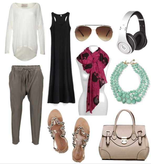 chic-travel-clothing #skull #scarf