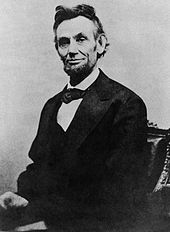 Abraham Lincoln last formal  picture taken on Feb. 5, 1865 by Alexander Gardner  before Lincoln's  assassination on April 14, 1865 by John Wilkes Booth