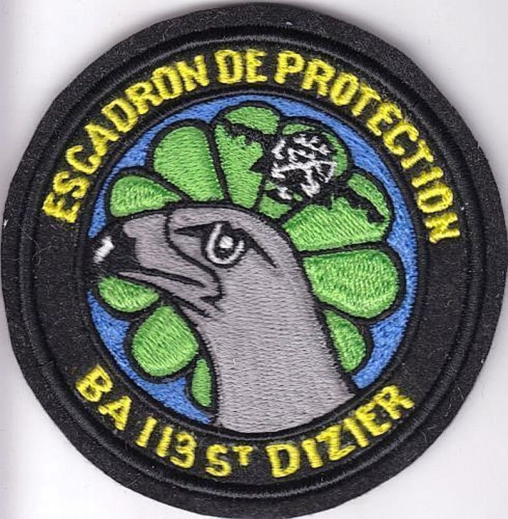 France Air Force Airborne Security Squadron Saint Dizier Airbase Armee de 4.25in