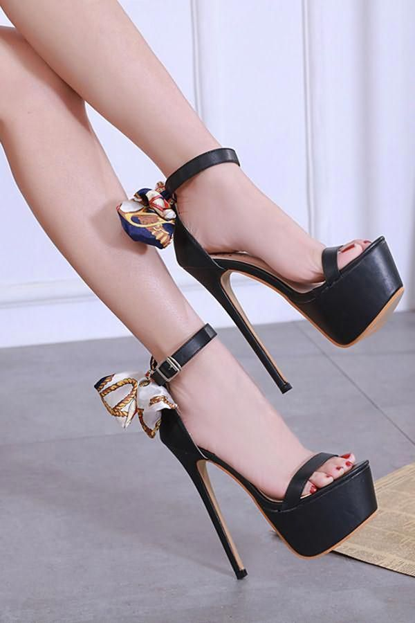 Sexy inexpensive stiletto heels ankle-strap