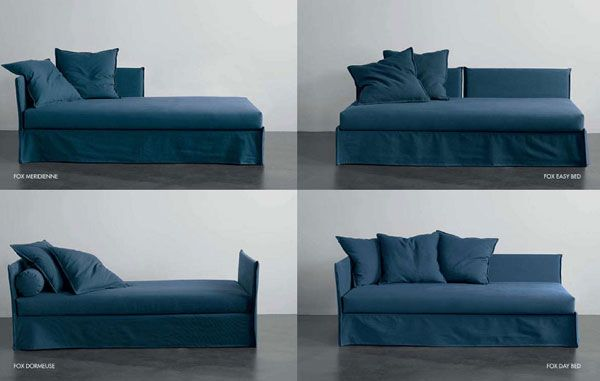 Meridiani Fox, daybed