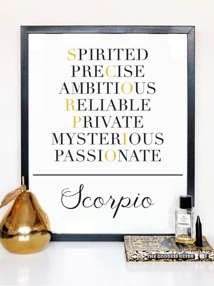 Scorpio Description Print