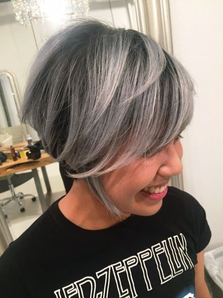 1255 best ~P L A T I N U M~ images on Pinterest | White hair, Grey ...