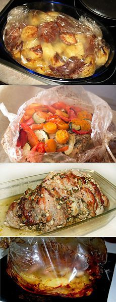 Свинина в рукаве: самые вкусные рецепты / Простые рецепты