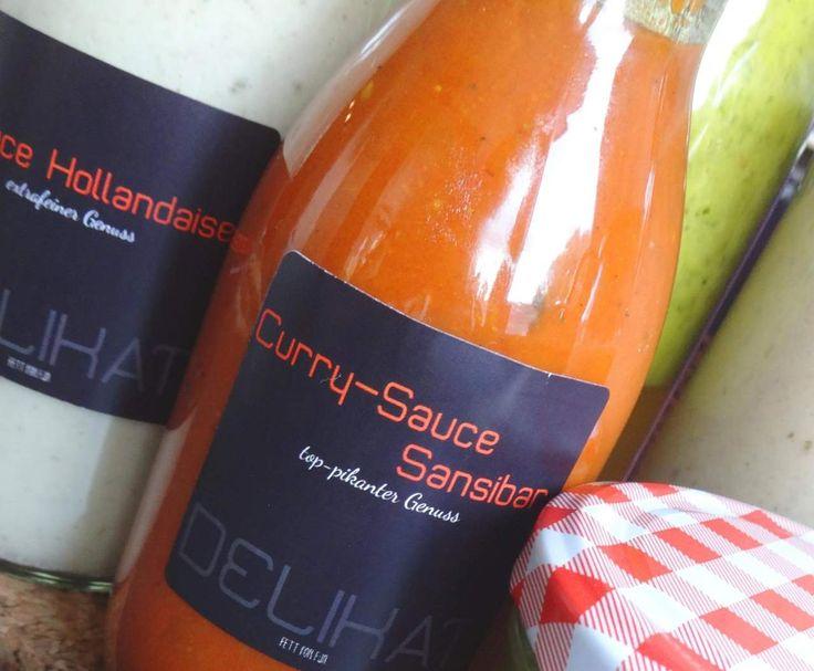 Rezept Saucen à la Sansibar - Curry-Sauce, weiße Sauce, grüne Salat-Sauce