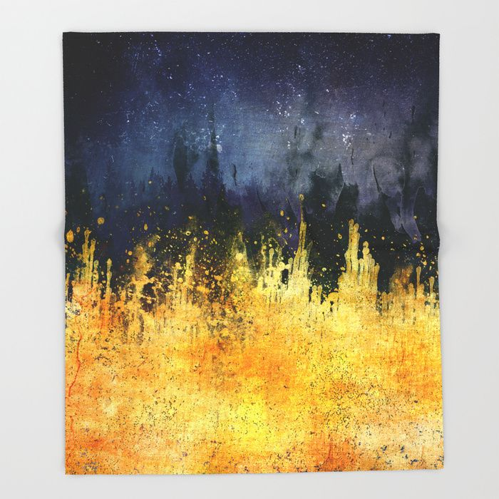 My burning desire Throw Blanket by HappyMelvin | Society6